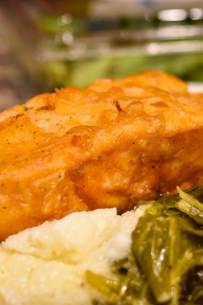 Deep Fried Salmon
