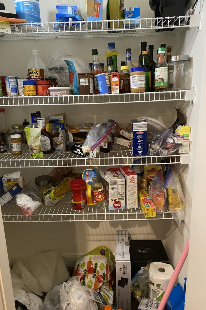Chaos drove me to organize
